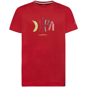 La Sportiva Breakfast T-Shirt Men chili